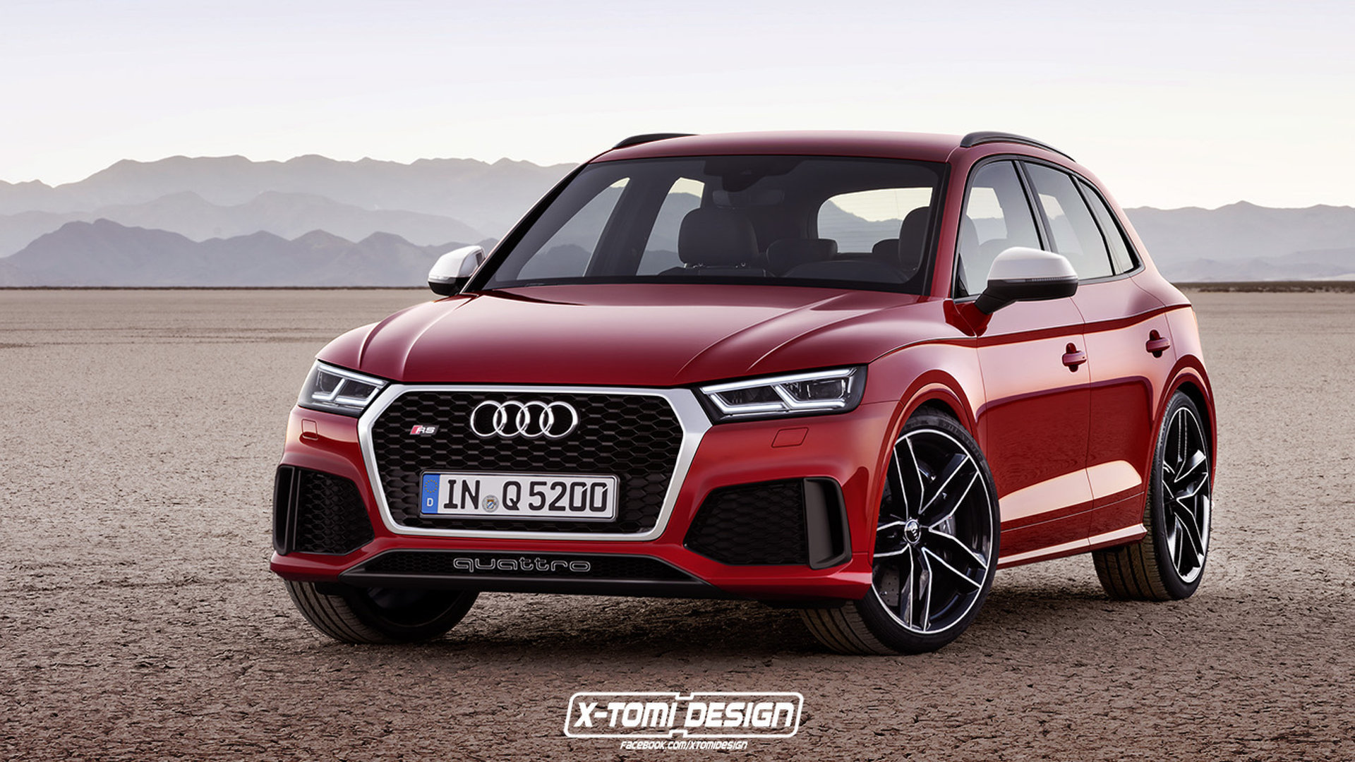 Audi RS Q5 could look like this