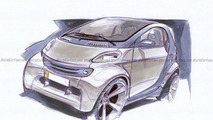 Sketch smart fortwo