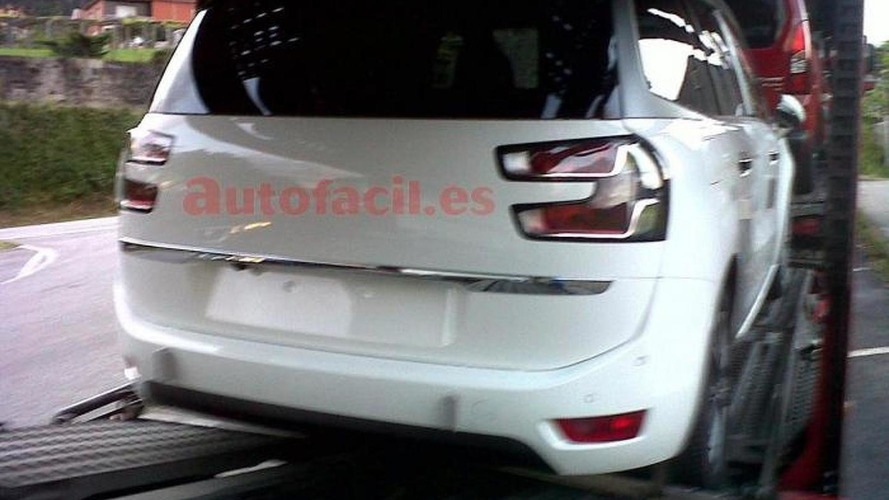 2014 Citroen C4 Grand Picasso spied without camo