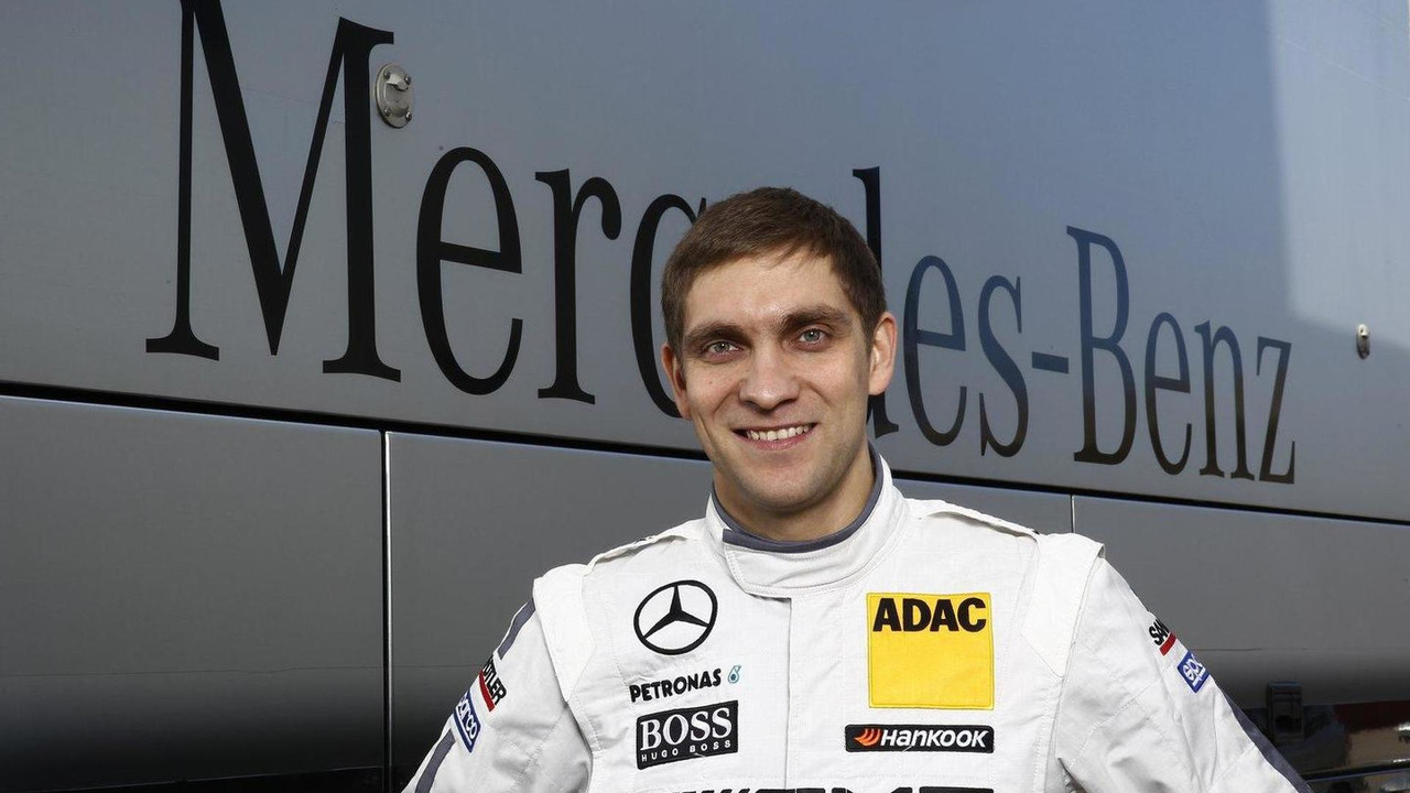 Vitaly Petrov DTM Mercedes AMG C-Coupe Portimao Portugal