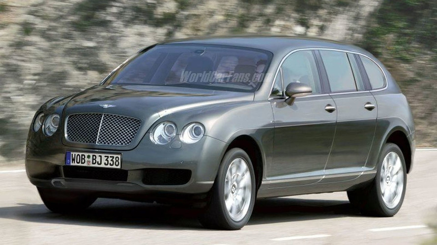 Spy Photos: New Bentley SUV?