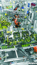 Skoda Roomster Production Line