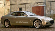 Maserati Coupe Spy Photo