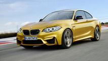 2016 BMW M2 Coupe speculatively rendered