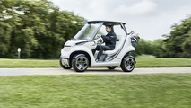 Mercedes Garia golf cart puts a little luxury on the links
