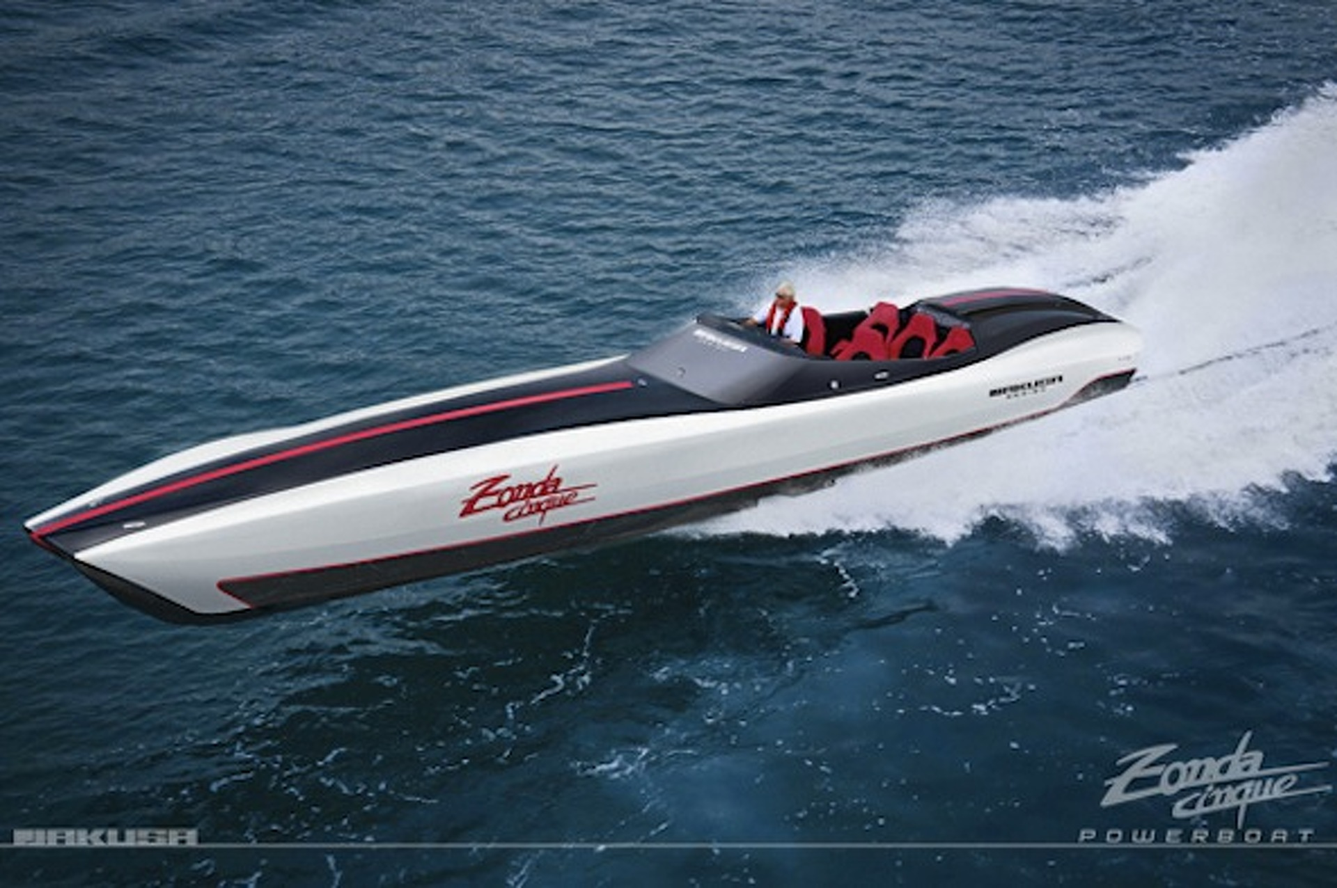 Pagani Powerboat Concept is a Supercar of the Seas