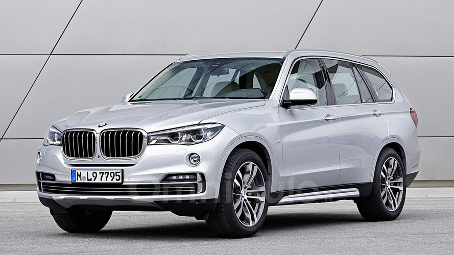 BMW X7 rendering previews flagship V12 SUV