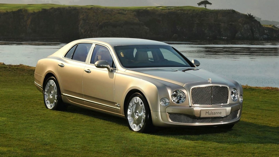 Bentley Mulsanne Unveiled at Pebble Beach