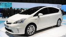 Toyota Prius+ full hybrid MPV revealed in Geneva
