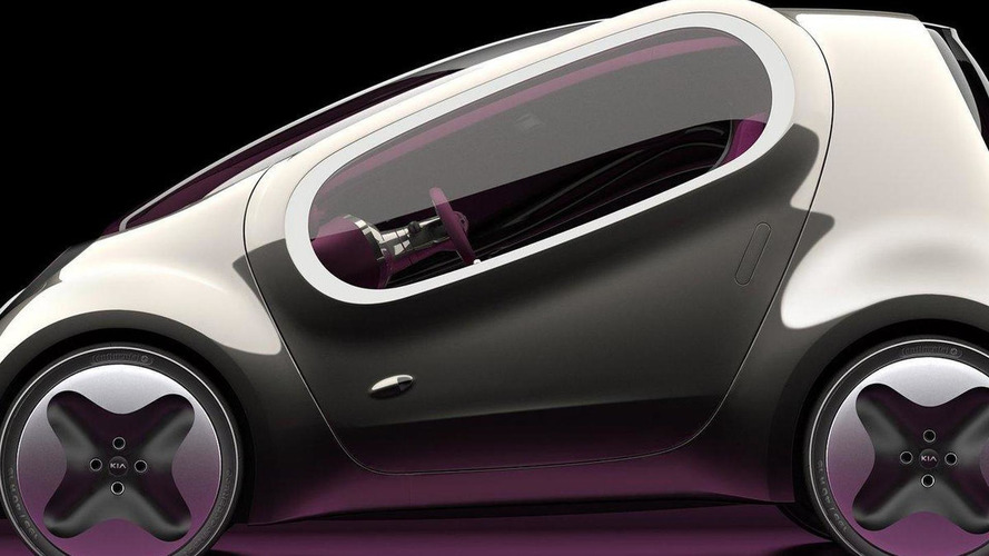 Kia POP electric vehicle concept for Paris - first images released