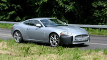 Jaguar XK-R Facelift Spy Photos with Better Camouflage