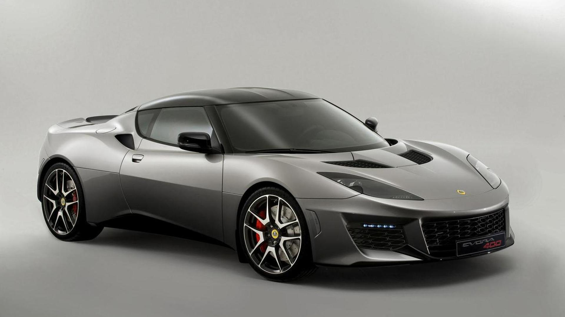 Lotus Evora 400 unveiled, is the most powerful Lotus ever created