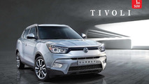 SsangYong Tivoli first official images released