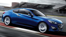 2012/2013 Hyundai Genesis Coupe (facelift) first official images
