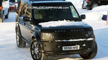 Land Rover Discovery Facelift Spied