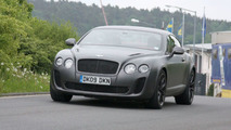Bentley Supersports Biofuel spy photo