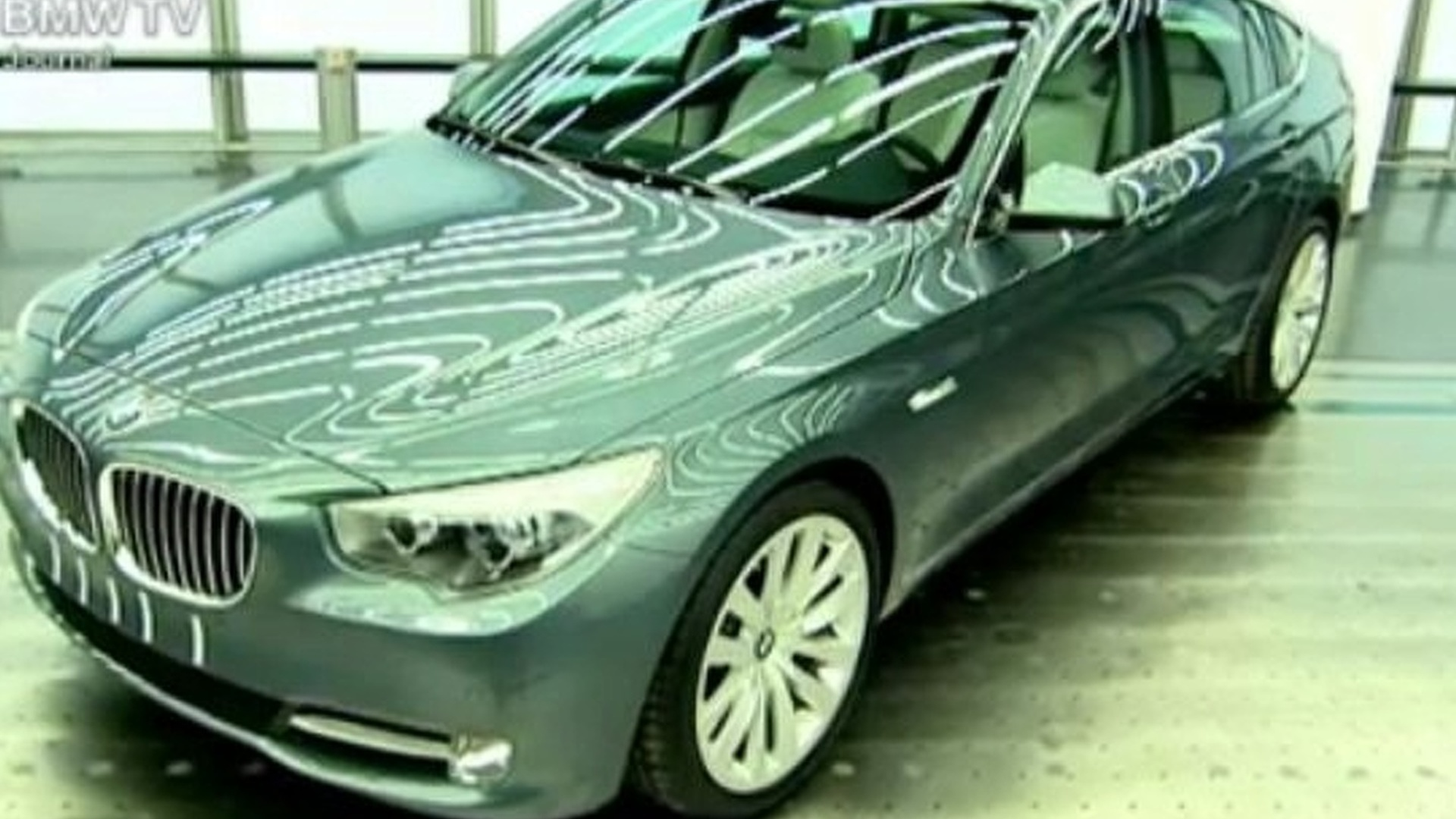 BMW 5-Series GT Production Version Teased in BMW-TV Video