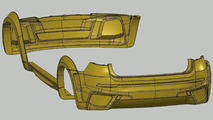 BMW X6 Interceptor by Met R, Scan and mathematical model of body kit, 1280, 28.05.2010