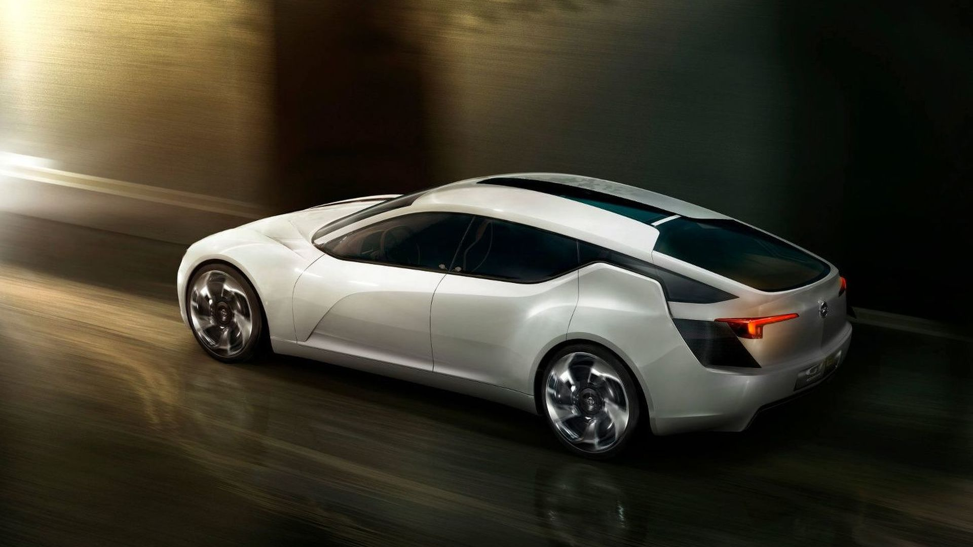 Opel Flextreme GT/E Concept First Photos and Details Released