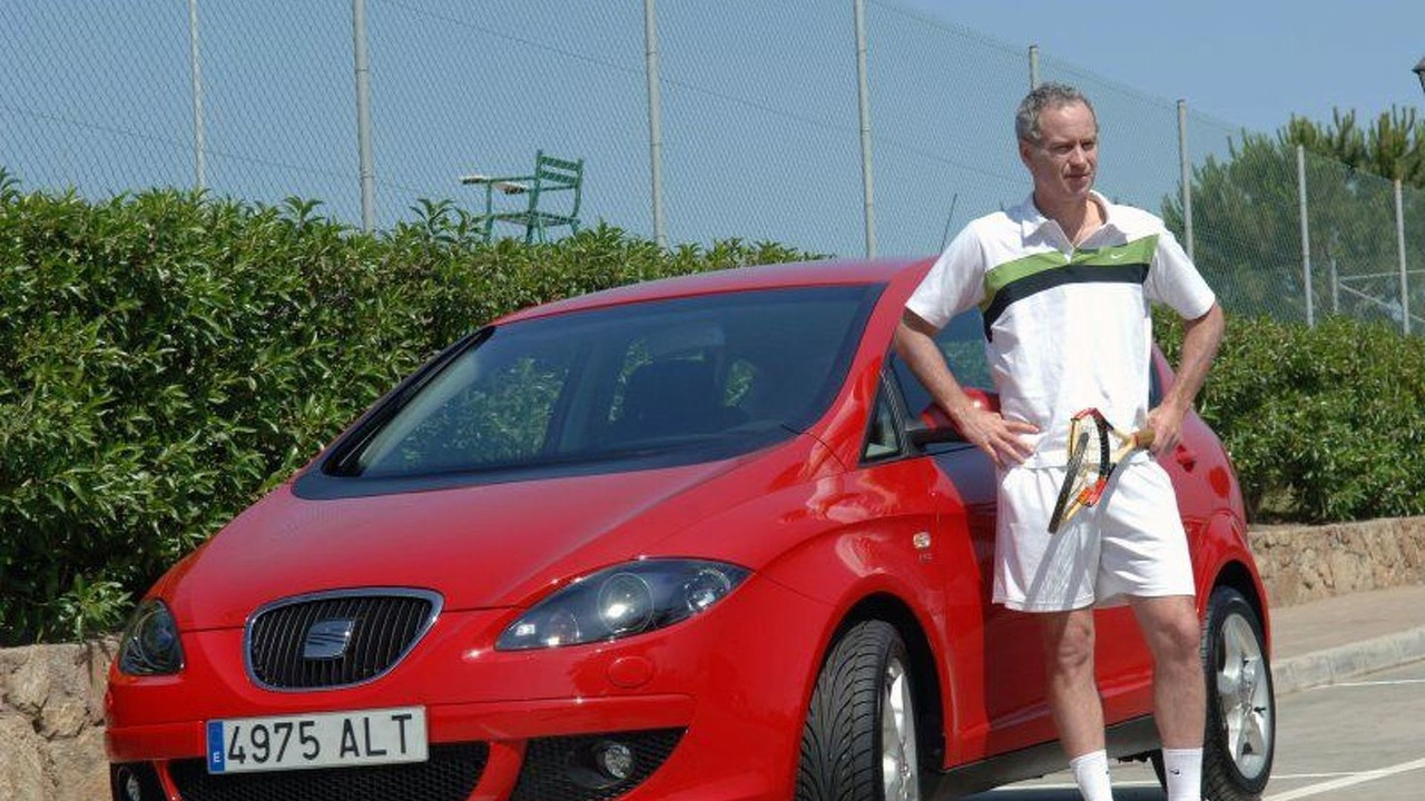 SEAT Altea and John McEnroe
