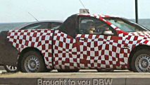 Holden Commodore VE in Ute Drag Spy Shots