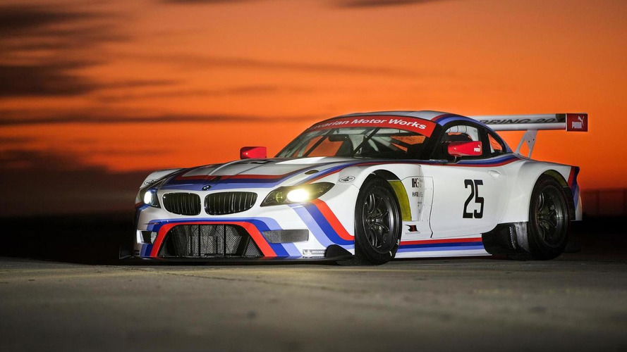 2015 BMW Z4 GTLM revealed with 3.0 CSL-inspired livery