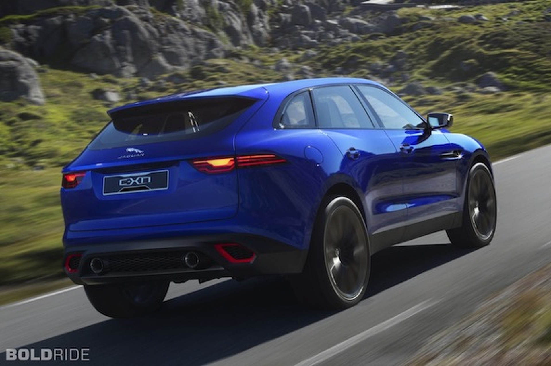 Jaguar Reveals C-X17, The Brand's First SUV