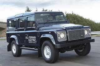 Land Rover Defender Gets That Electric Feel