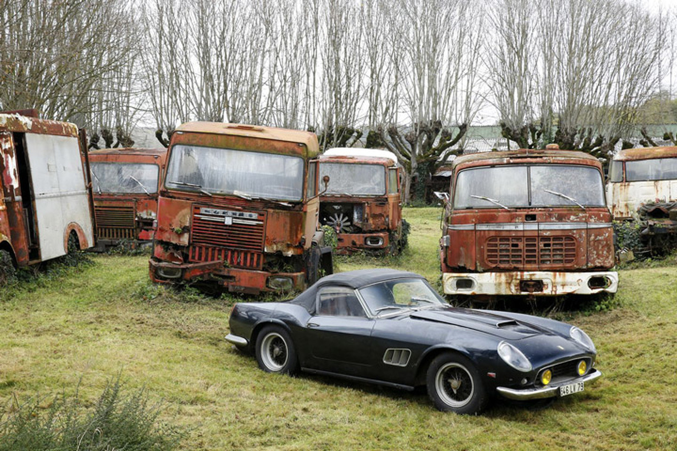 Unbelievable Automotive Goldmine Unearthed in France