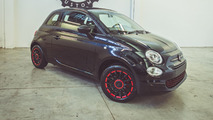 Custom Fiat 500C gets fashionable for Diesel founder