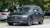 Maserati Levante spied, could be hiding a coupe-like roofline