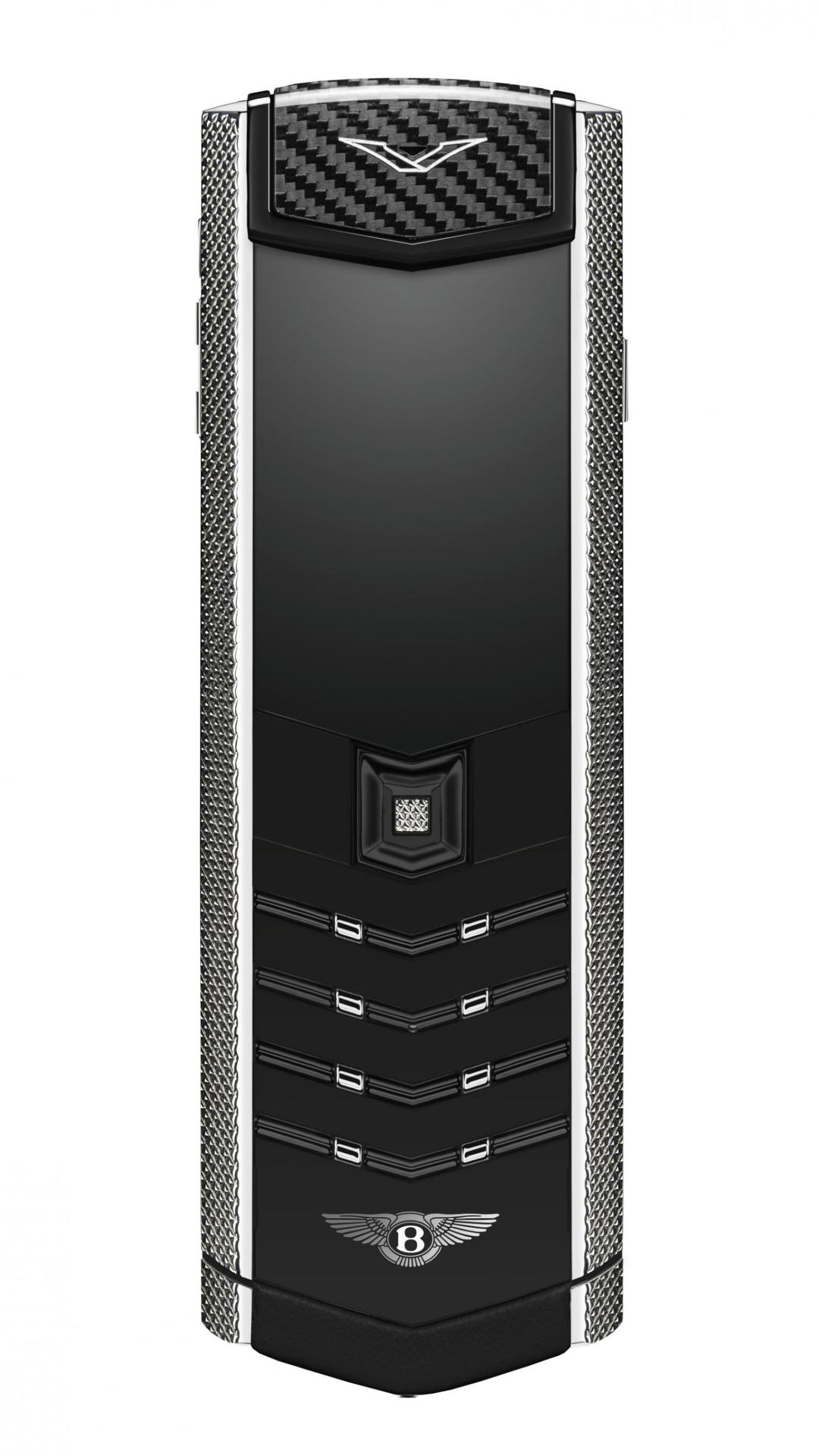 Bentley introduces their new cellphone at Goodwood