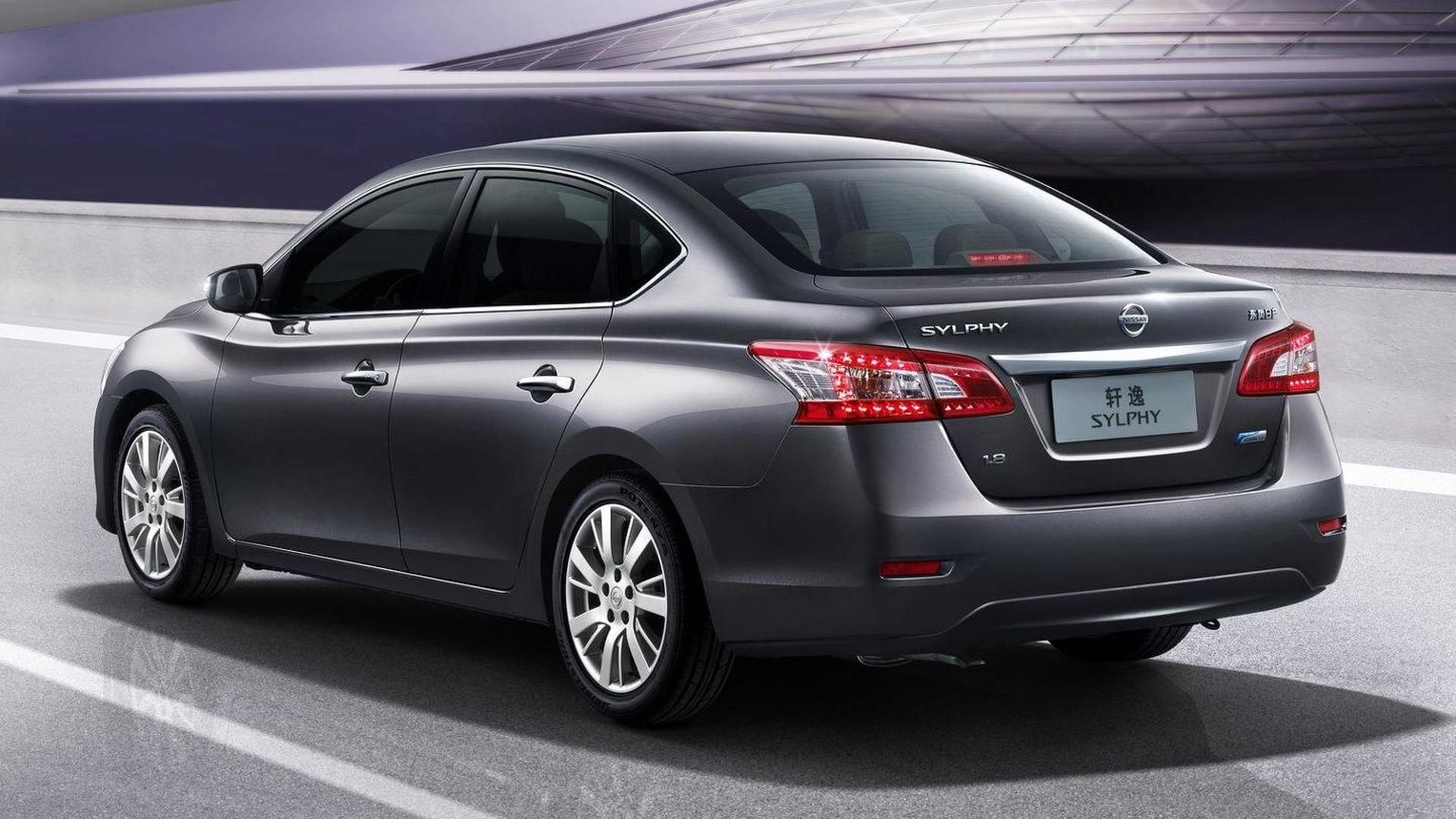 Nissan Sylphy revealed in Beijing - previews new Sentra for US [video]
