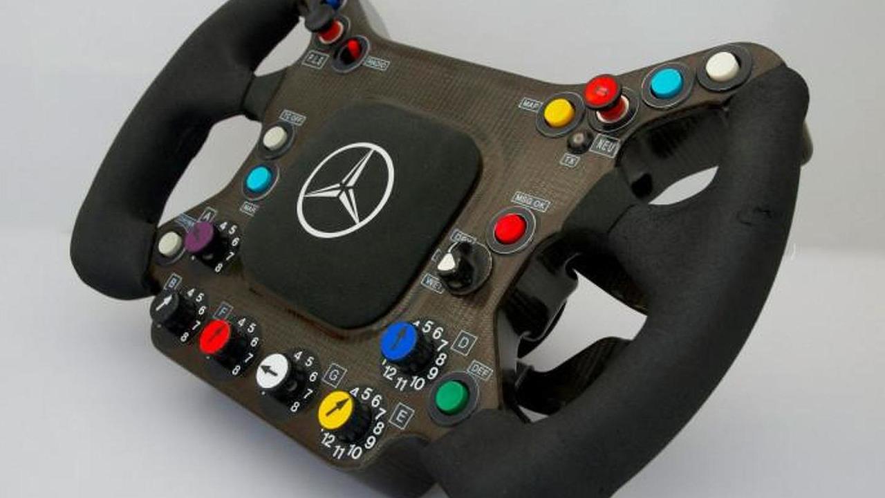Kimi Raikkonen's 2003 McLaren steering wheel