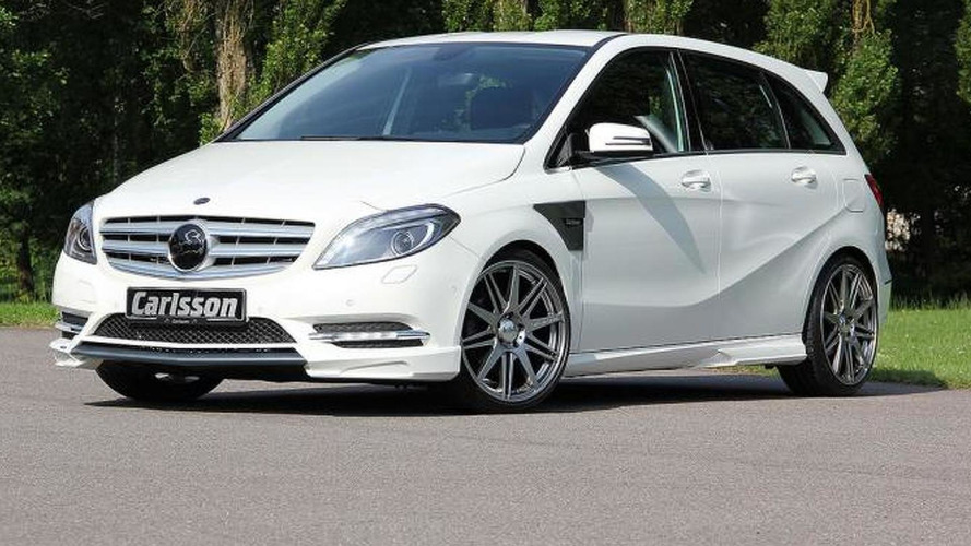 Carlsson tunes the Mercedes B-Class