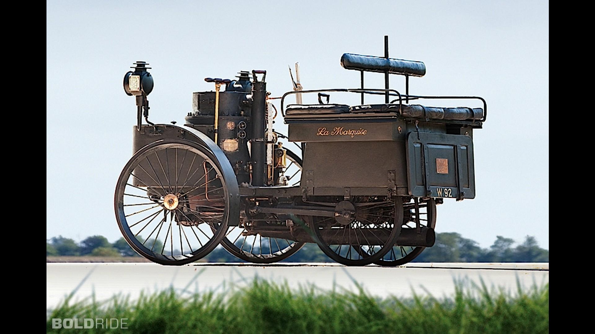 De-Dion Bouton Et Trepardoux Dos-A-Dos Steam Runabout