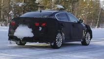 2013 Kia K9 spied cold weather testing