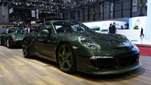 RUF storms Geneva with four new vehicles