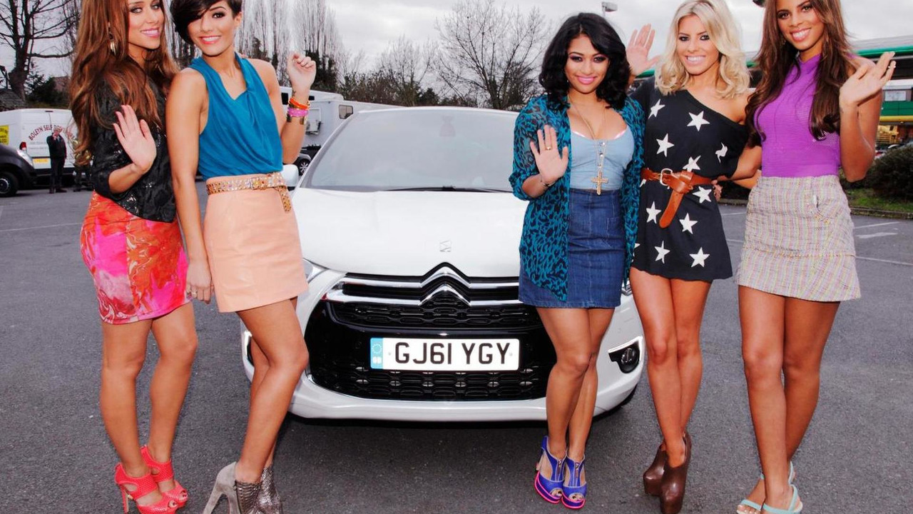 Citroen DS4 and The Saturdays team up in 30 Days music video 12.04.2012