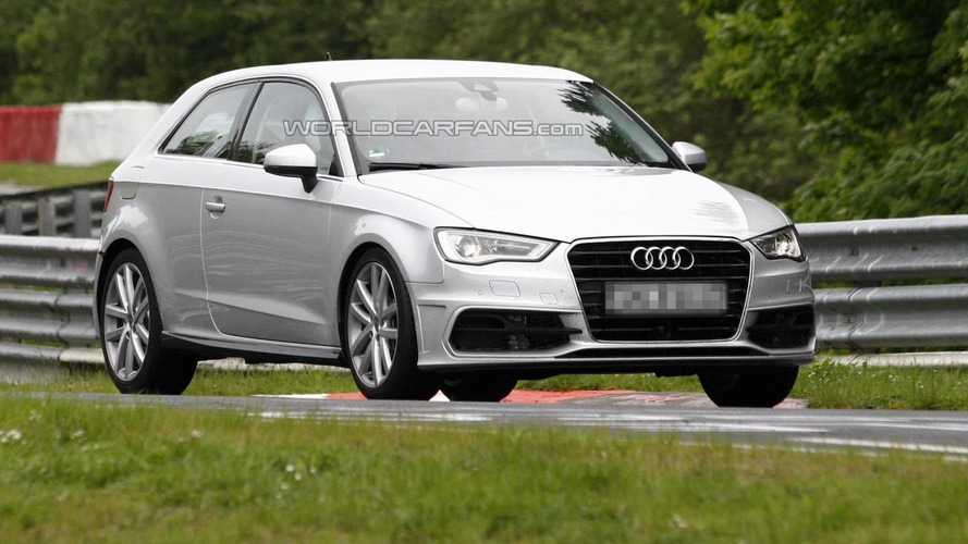 Audi S3 spied completely undisguised
