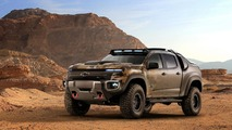 Un Chevrolet Colorado ZH2