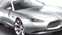 Maserati Ghibli design rendering leaked?