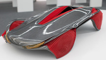 Audi Epiphany concept by students Shihan Pi and Yjing Zhang from the Royal College of Art in London 26.11.2012