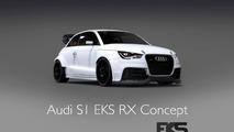 EKS unveils their Audi S1 for the FIA World Rallycross Championship