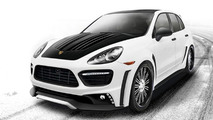Wald International Porsche Cayenne Turbo Black Bison Edition to debut at SEMA