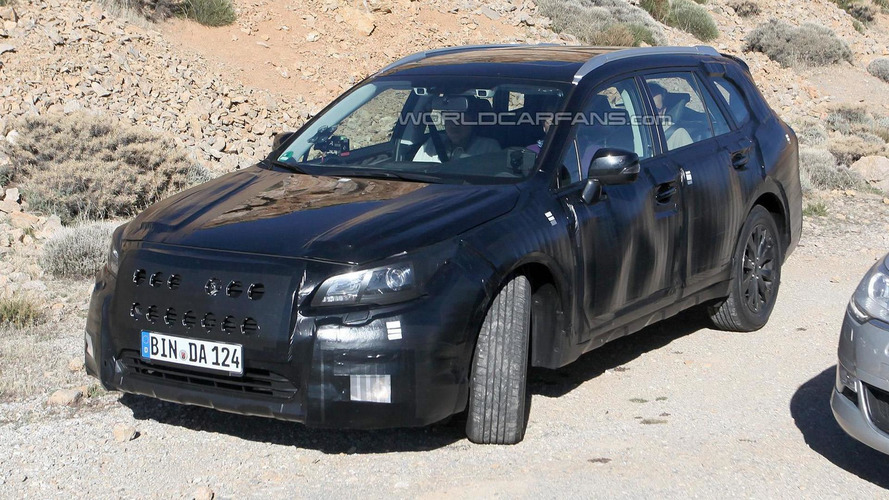 2015 Subaru Legacy spied in Europe