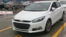 2015 Chevrolet Cruze spied totally undisguised inside and out