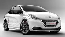 Peugeot 208 Hybrid FE Concept official photos emerge