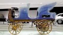 Porsche acquires the first vehicle designed by Ferdinand Porsche, an EV from 1898