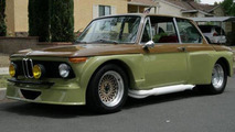 1969 BMW 2002 transformed into a street rod with Mustang V8 [video]